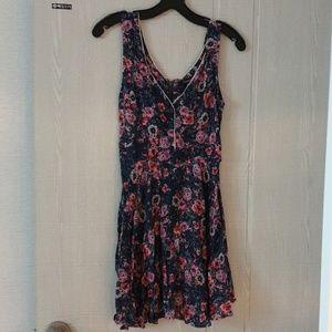 Flowery Sunday dress